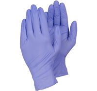 TEGERA 843 Nitrile Powder Free Purple Disposable Glove (Box 100)