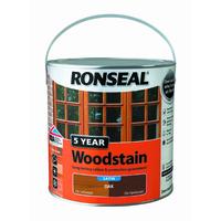 5 Year Woodstain 2.5L Oak