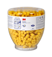 3M E-A-R Classic Earplugs, 28 dB, Refill Bottle (500 pairs per pack)