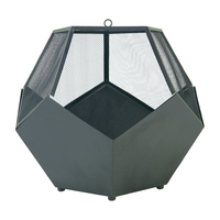 The Pentagon Firebowl With Screen,Loggrate & Poker