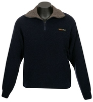 MKM 36.6 Deg Tasman Zip & Collar Double Layer Wool & Possum Jersey