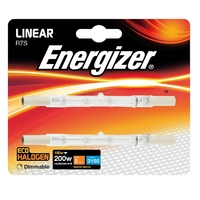 Eveready 160W(200W) Energy Saving Halogen Linear, 2pk