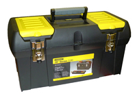 "Stanley 19"" Metal Latch Tool Box"