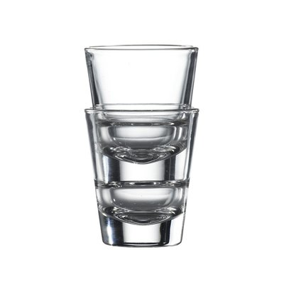 Stacking Conical Shot Glass 4.5cl 1.5oz Carton of 6