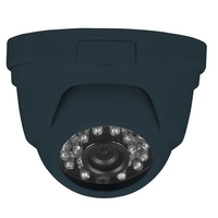 Triax Fixed Lens 1080p TVI Dome - Grey