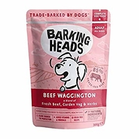 Barking Heads Dog Pouch - Beef Waggington 300g x 10