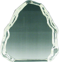 12cm Iceberg Crystal Award (Satin Box)
