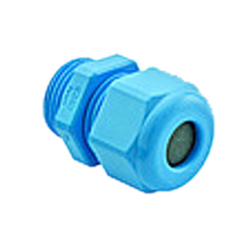 Blue Polyamide Cable Gland