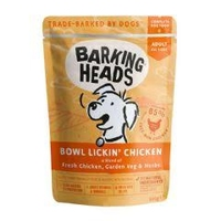 Barking Heads Dog Pouch - Bowl Lickin' Chicken 300g x 10