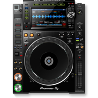 Pioneer CDJ-2000NXS2 Pro-DJ multi-player with hes-res audio support (Black)