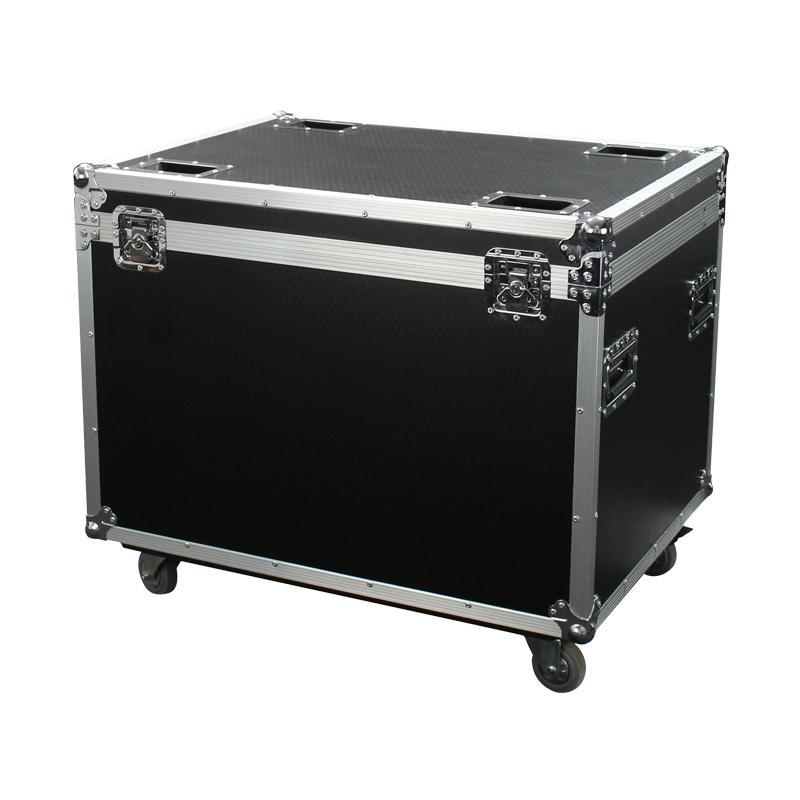 LEDJ Pro Twin 8 x 4m Starcloth Flight Case
