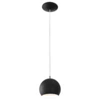 EGLO Petto LED Black Single Pendant IP20 | LV1902.0096