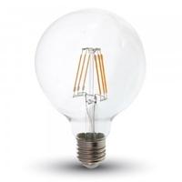 6w G95 LED Filament E27 2200K