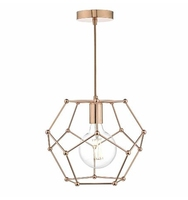 Coen 1 Light Pendant, Copper | LV1802.0053