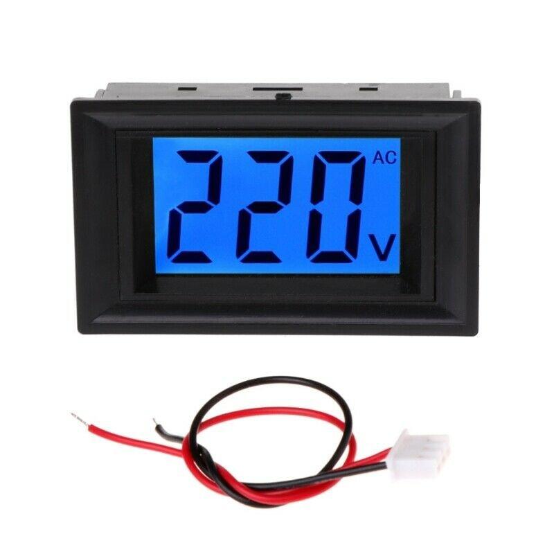 Voltmeter Digital AC 80-500V LCD Display