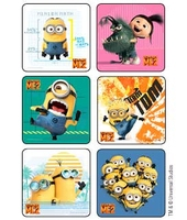 MEDIBADGE STICKERS DESPICABLE ME 2
