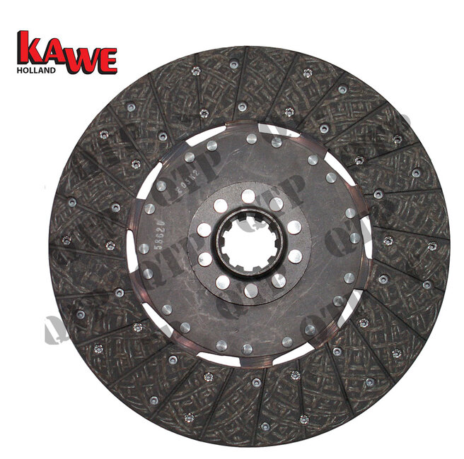 "Clutch Disc Ford 10 Spline 13"" No Spring"