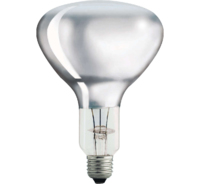 PHILIPS  IR375W/CH I/R LAMP HARD GLASS