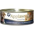 Applaws Dog Cans - Chicken, Salmon & Veg 156g x 12