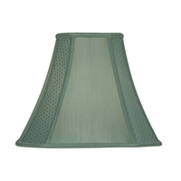 "12"" Square Shade Round Corners Sage"