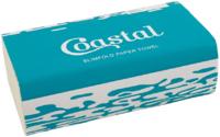 Coastal Slimfold Towel 4000/Ctn