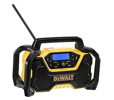 Dewalt DCR029 12v-54v & 230v Compact Bluetooth Radio Bare Unit