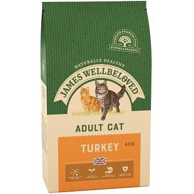 James Wellbeloved Adult Cat Turkey 4kg