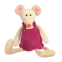 Musical Valentine the Mouse Teddy Bear