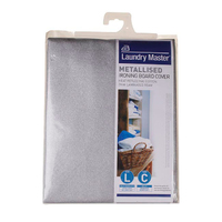L/M Metallised Ironing Board Cover L 124x45cm