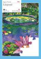 24 Piece Lily Pond Jigsaw Active Minds
