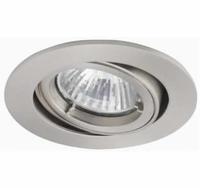 Twistlock Adjustable Pearl Nickel Downlight   LV1002.0045