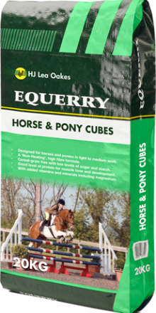 Equerry Horse & Pony Cubes 20kg