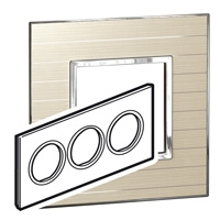 Arteor (British Standard) Plate 6 Module Round Casual | LV0501.2804