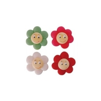 104595 FLOWER FACE 72 PCS
