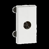 Arteor TV Single Socket Female White  | LV0501.2430