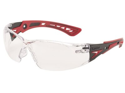 BOLLE Rush+ Clear Lens Safety Glasses