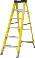 5 Step Single-Sided Fibreglass Step Ladder