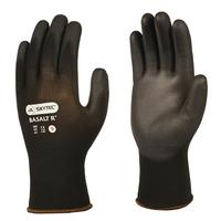 Skytec Basalt R PU Coated Glove, Black