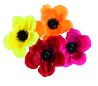 Artificial Flower Anenome - Mixed Colours