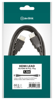 1.0mtr 4K Thinwire HDMI Lead with Ethernet