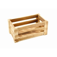 Wooden Crate Rustic 27 x 16 x 12cm