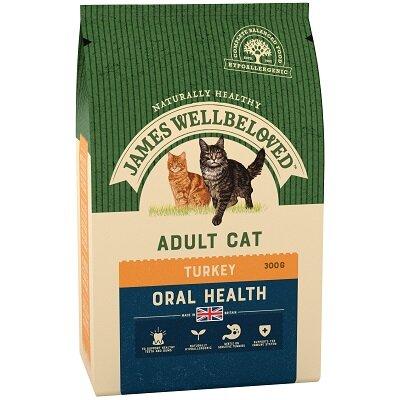 James Wellbeloved Adult Cat Oral Health Turkey 300g
