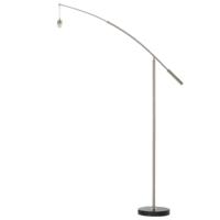 Nadina 1 Floor Lamp Base Brushed Chrome | LV1902.0022