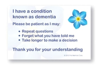 Patience Cards (Dementia Specific)