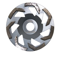 125MM GRINDING DISC PCD SPLIT SILVER