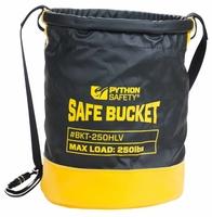 Python Standard safe bucket, load rating 113.4 kg (250 lbs), Drawstring, Vinyl, 30L
