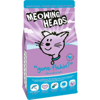 Meowing Heads Adult Cat Gone Fishing 1.5kg