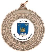 50mm Bronze Laurel Iron Medal | TC94