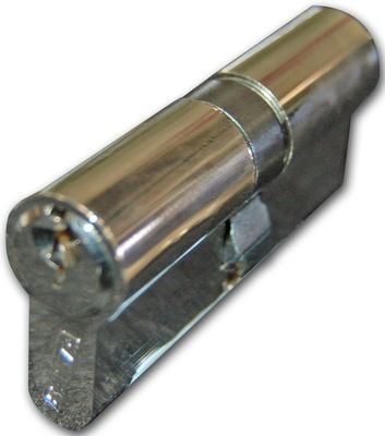 Basta Euro Cylinder Key/Key 45/45mm Nickel