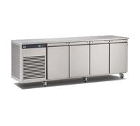 Counter Freezer 4 Door S/S Ext/Int 2320x700x865mm